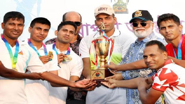 Army wins inter-service hokey title