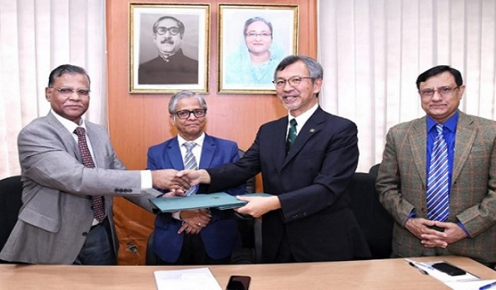 MoU between DU and Iwate University (Japan) signed