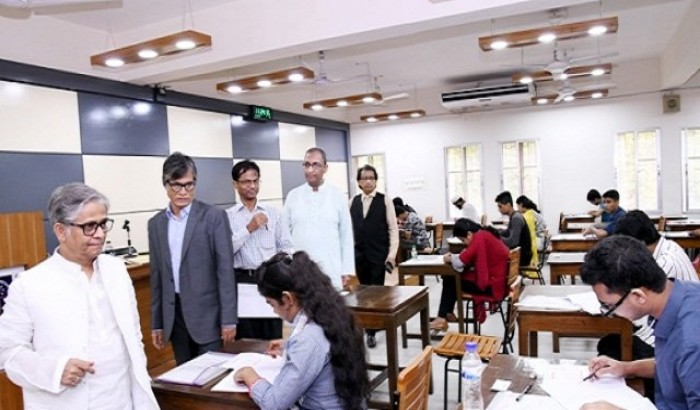 DU IBA's BBA admission test held