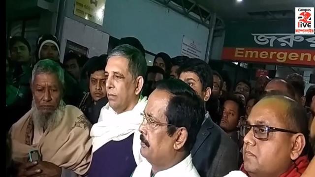 Nanak, Bahauddin Nasim visit DUCSU VP Nur