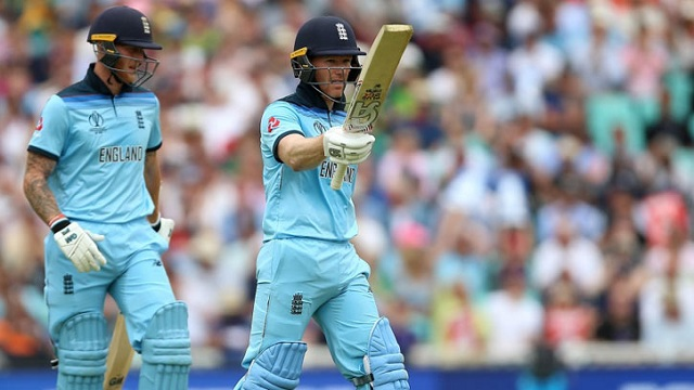 Stokes leads England to 311-8 in World Cup