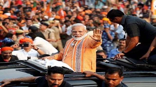 Stage set to host record 6,000 guests in Modi's swearing