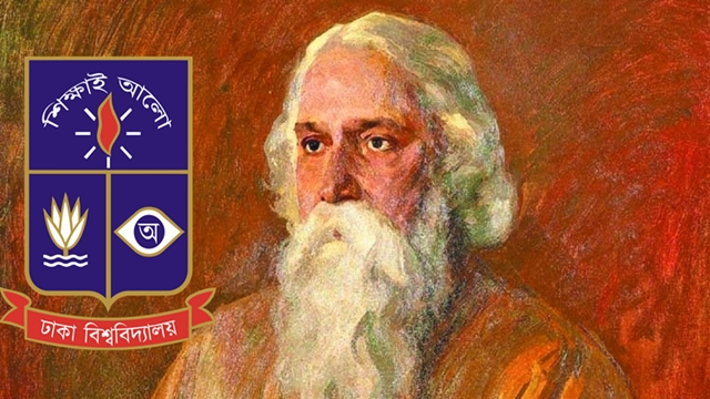 DU observes 158th Birth Anniversary of Rabindranath