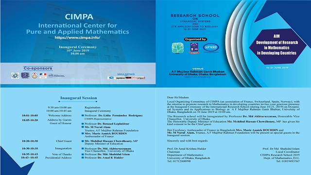 Promote research in Mathematics in Developing Countries