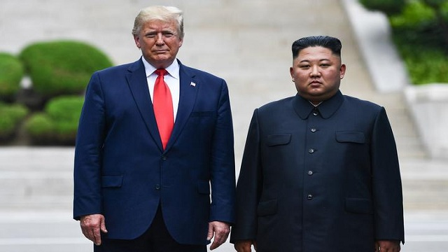 Trump leaves South Korea for US after historic step into the North