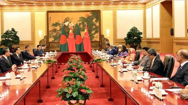 Bangladesh-China sign 9 instruments, MoUs