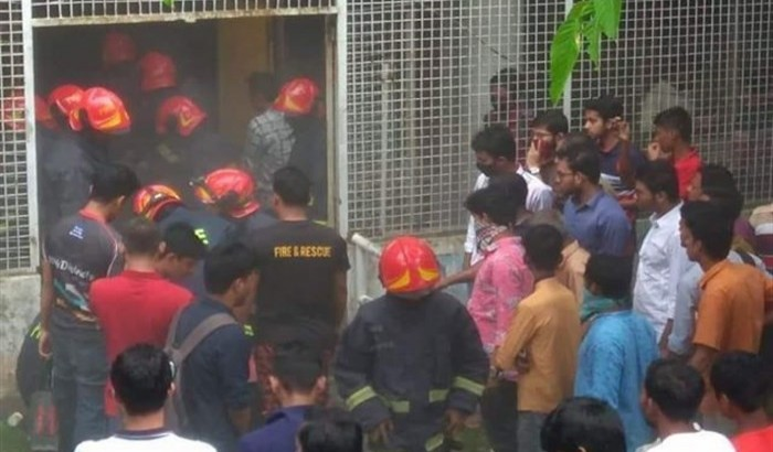 Fire breaks out at DU central library