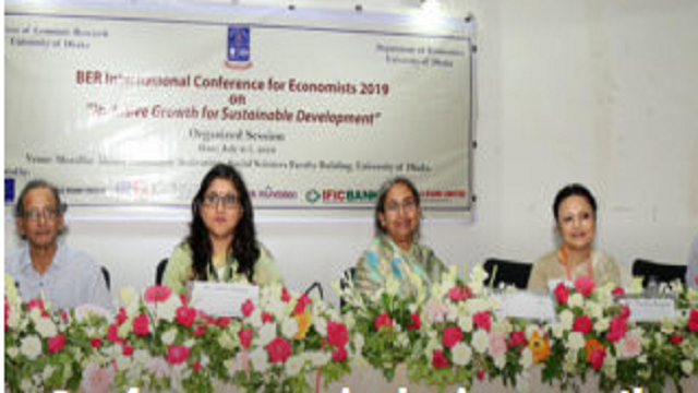 Conference on inclusive growth for sustainable dev held at DU