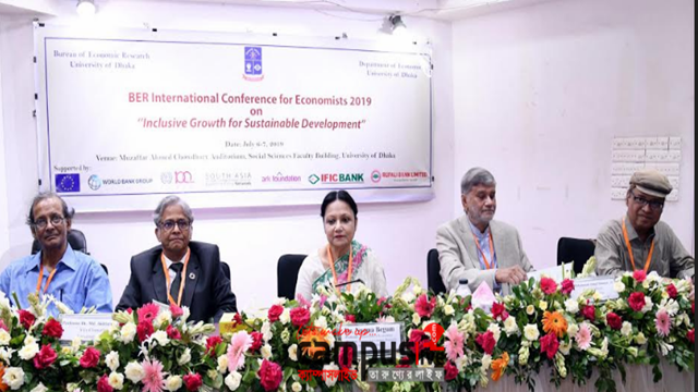 Int'l confce on 'Inclusive Growth for  Sustainable Development' begins at DU