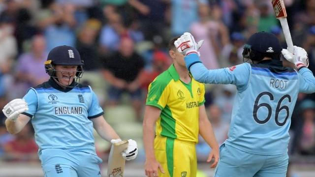 England thrash Australia by eight wickets to reach World Cup final