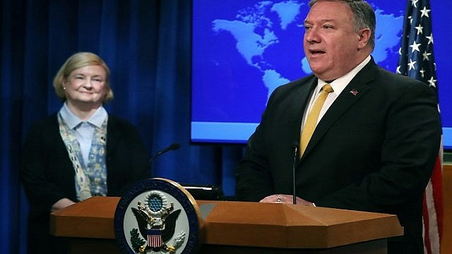 Pompeo taps abortion foe for fresh look