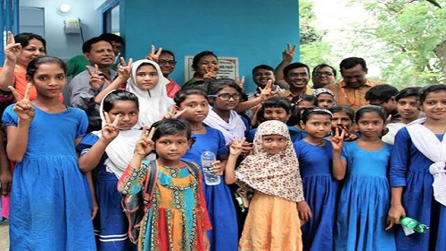 6,500 schoolgirls brought under hygienic toilet facilities