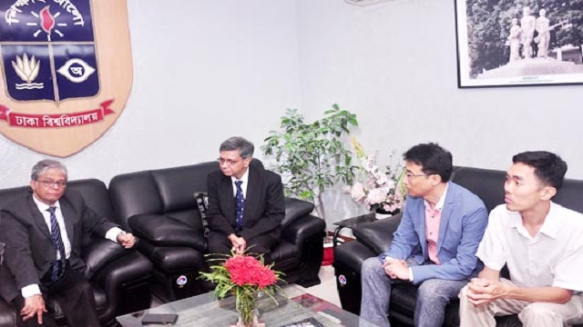 Chinese university intends to strengthen cooperation with DU