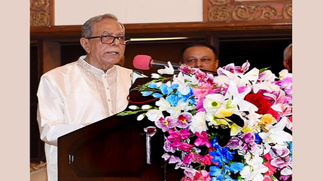 President for communal harmony to attain national