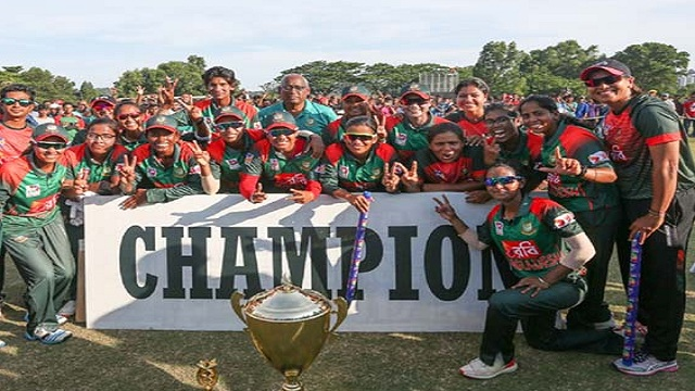 Bangladesh secures Women's World Cup T20
