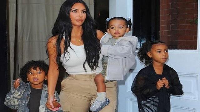 Kim christens her children in Armenia