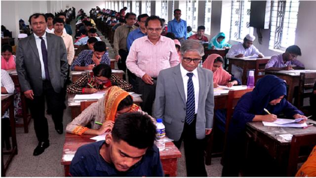 Dhaka University Kha unit admission test held