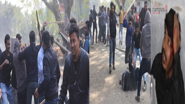 30 injured in IU BCL factional clash