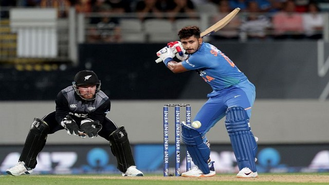India beat New Zealand by 6 wickets in Twenty20