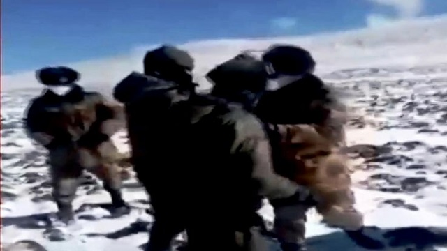 Video shows Indian, Chinese troops clash in Sikkim ( Video)