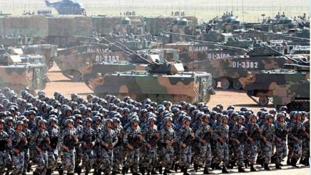 Chinese troops grab vast areas along border: Indian media