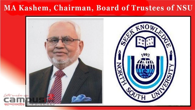 MA Kashem has been elected as the Chairman, Board of Trustees,NSU