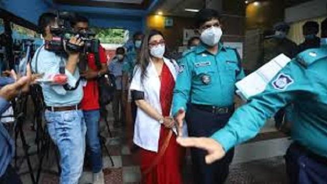 Dr Sabrina finally arrested over fake corona report scam