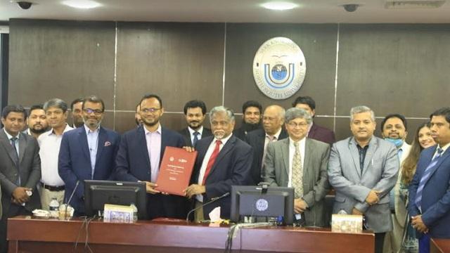 MoU Signing NSU & ICAB