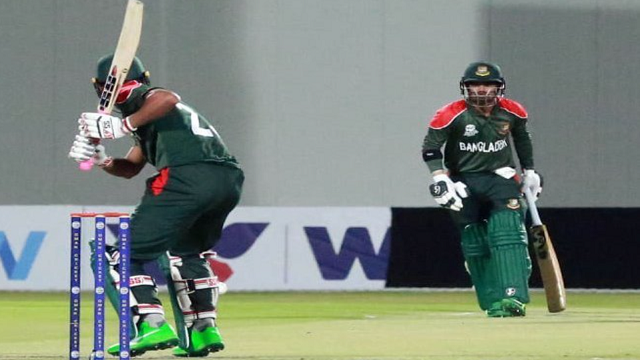 Bangladesh win toss, elect to bat first against Oman
